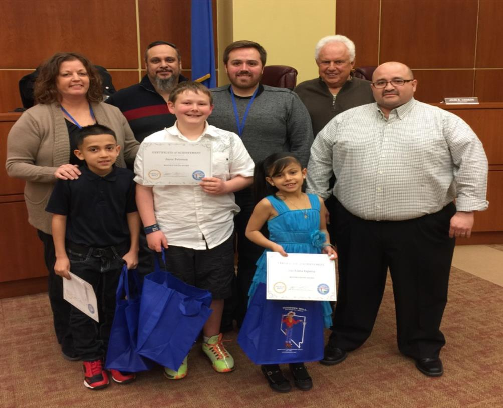 Mayor's Youth Award - WWES February 2017