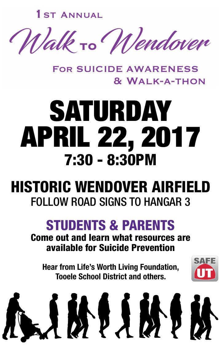 Walk to Wendover Suicide Awareness 4-22-2017