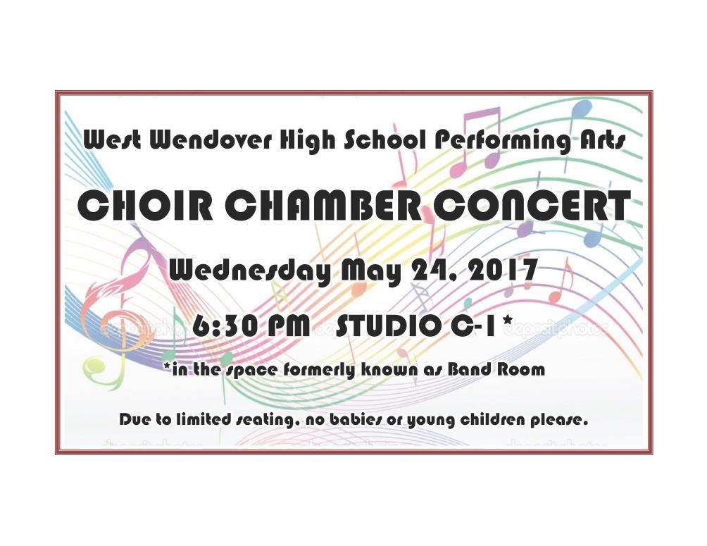 West Wendover High School Choir Chamber Concert Image