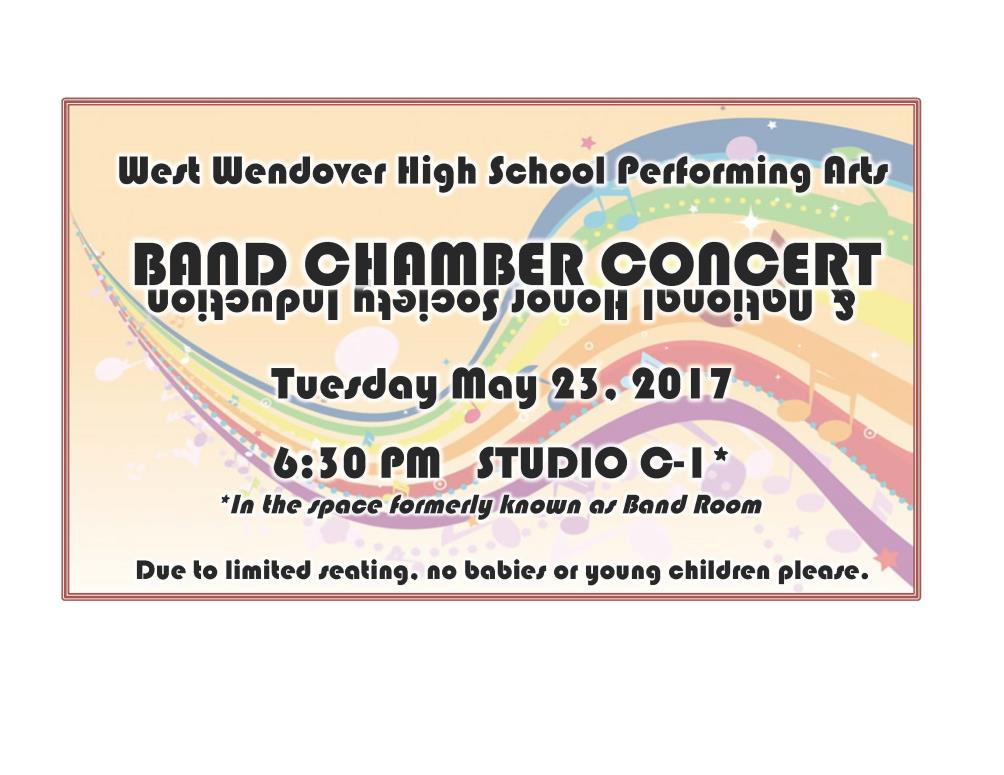 West Wendover High School Band Chamber Concert Image