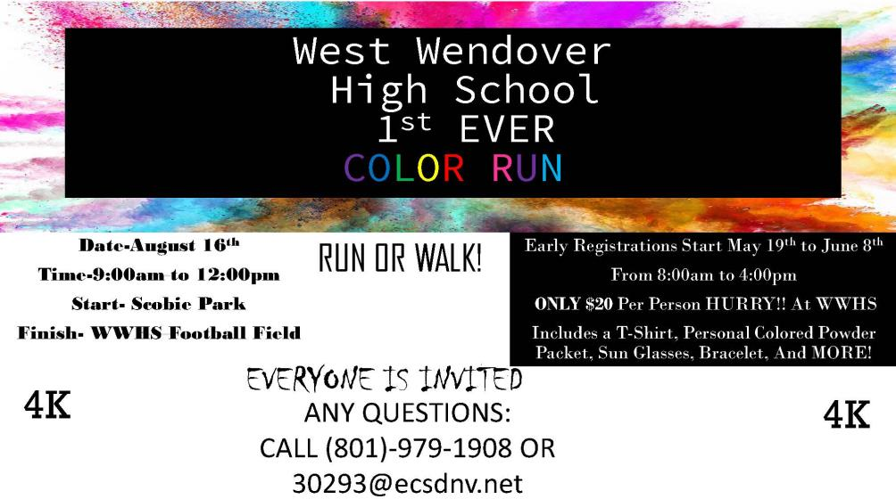 WWHS Color Run Flyer Image 6-6-2017