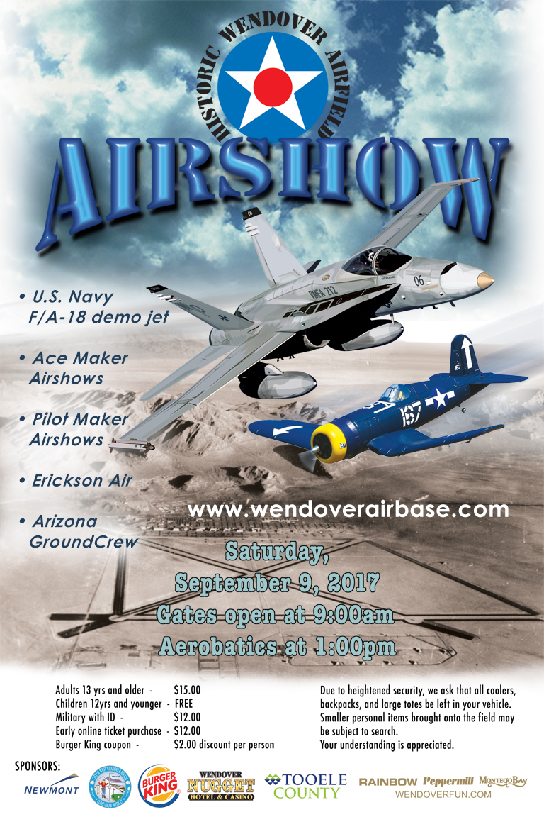 2017 airshow poster image