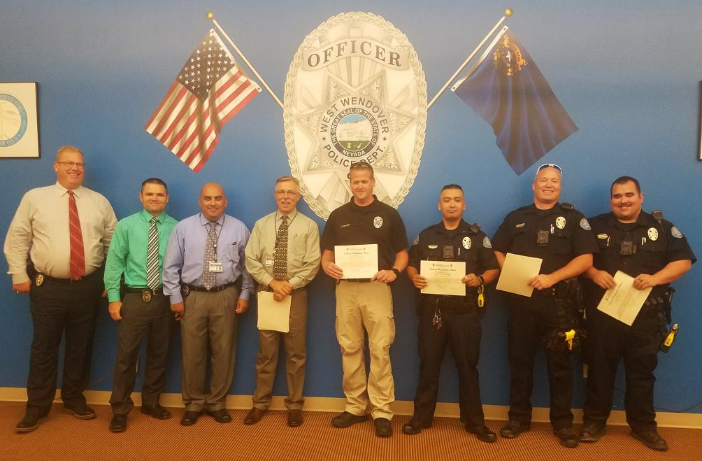 WWPD Officers Recognized 8-9-2017