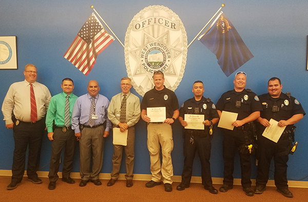 West Wendover Police Officers Receive Recognition