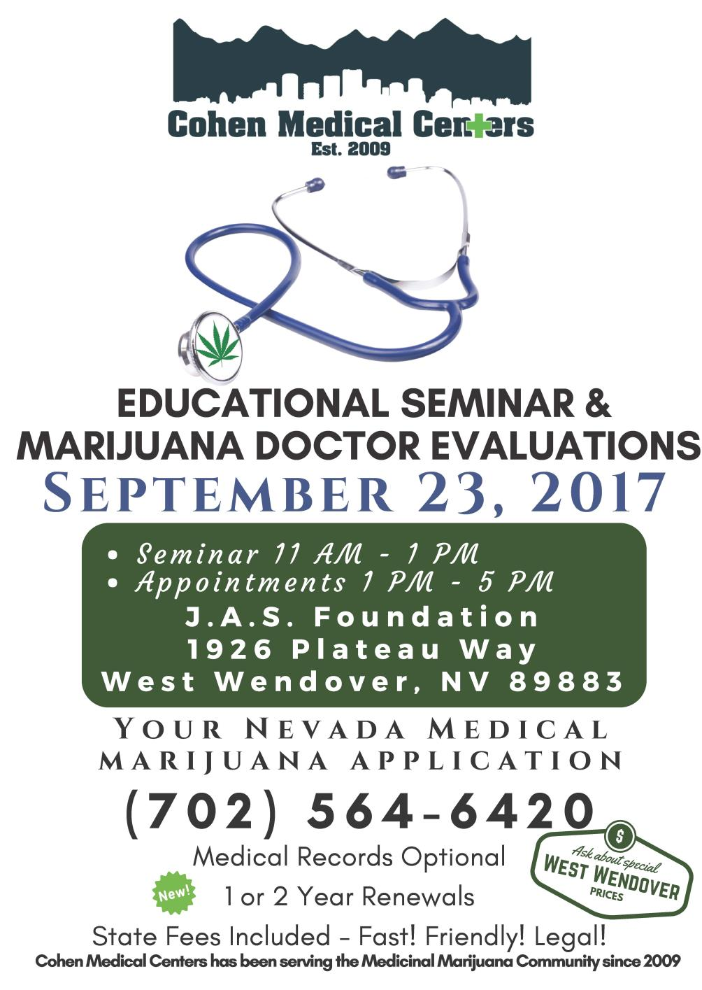 JAS Foundation Hosts Medical Marijuana Educational Seminar