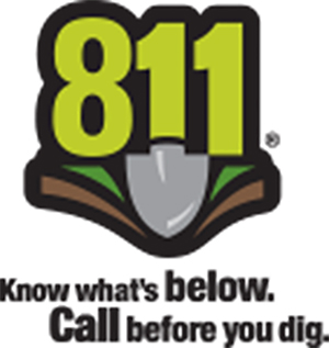 Attention Residents...Call Before You Dig!