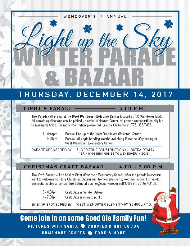 Winter Parade Flyer Image