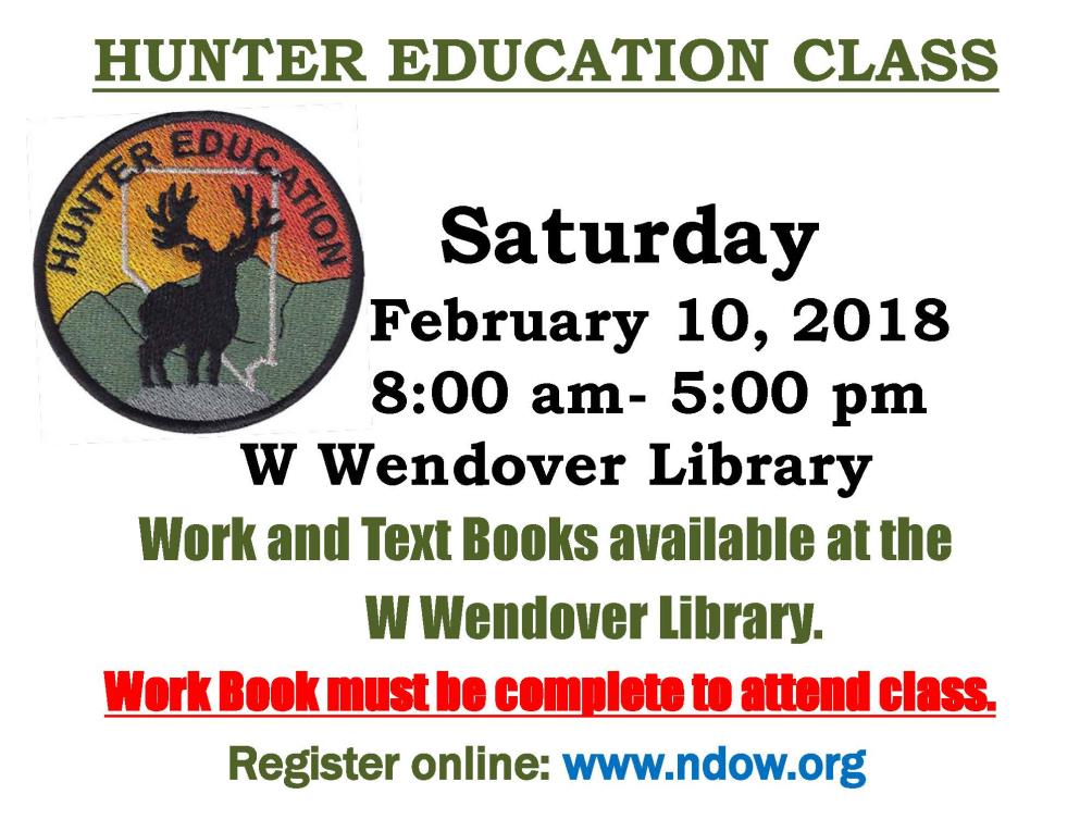Nevada Department of Wildlife - Hunter Education Class