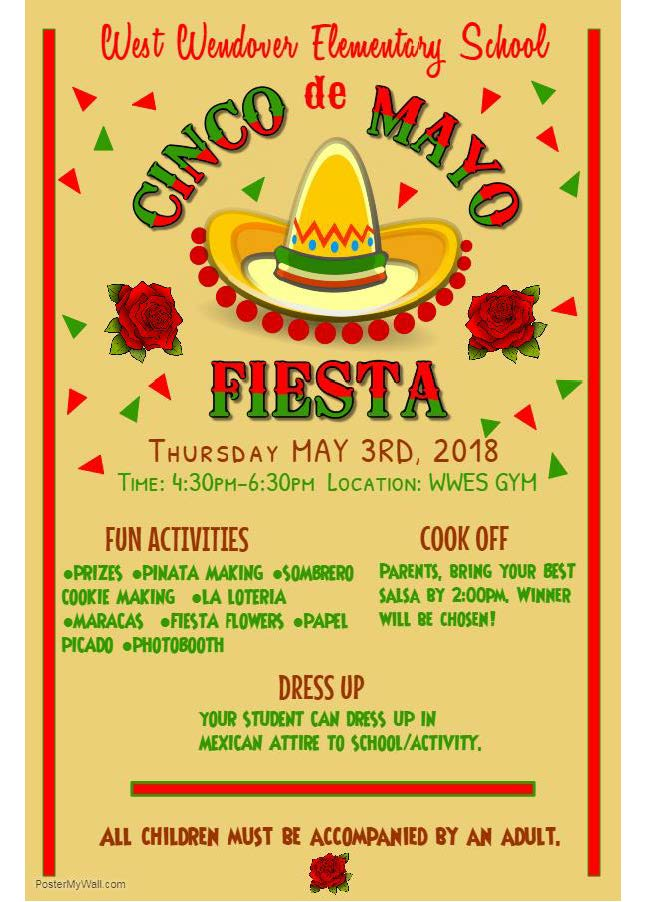 WWES Cinco De Mayo Flyer 2018