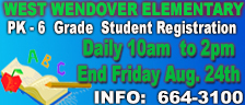 West Wendover Elementary School - Student Registration