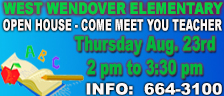 West Wendover Elementary School - Open House