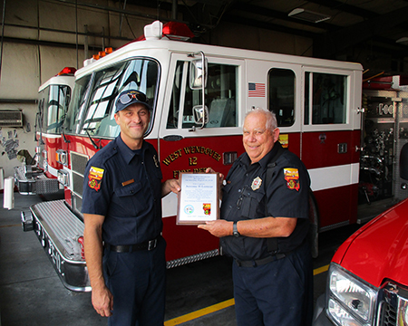 Fire Captain Jeremy Loncar Takes New Job with Storey County