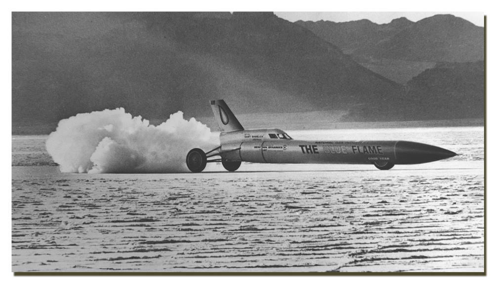 Blueflame at Bonneville
