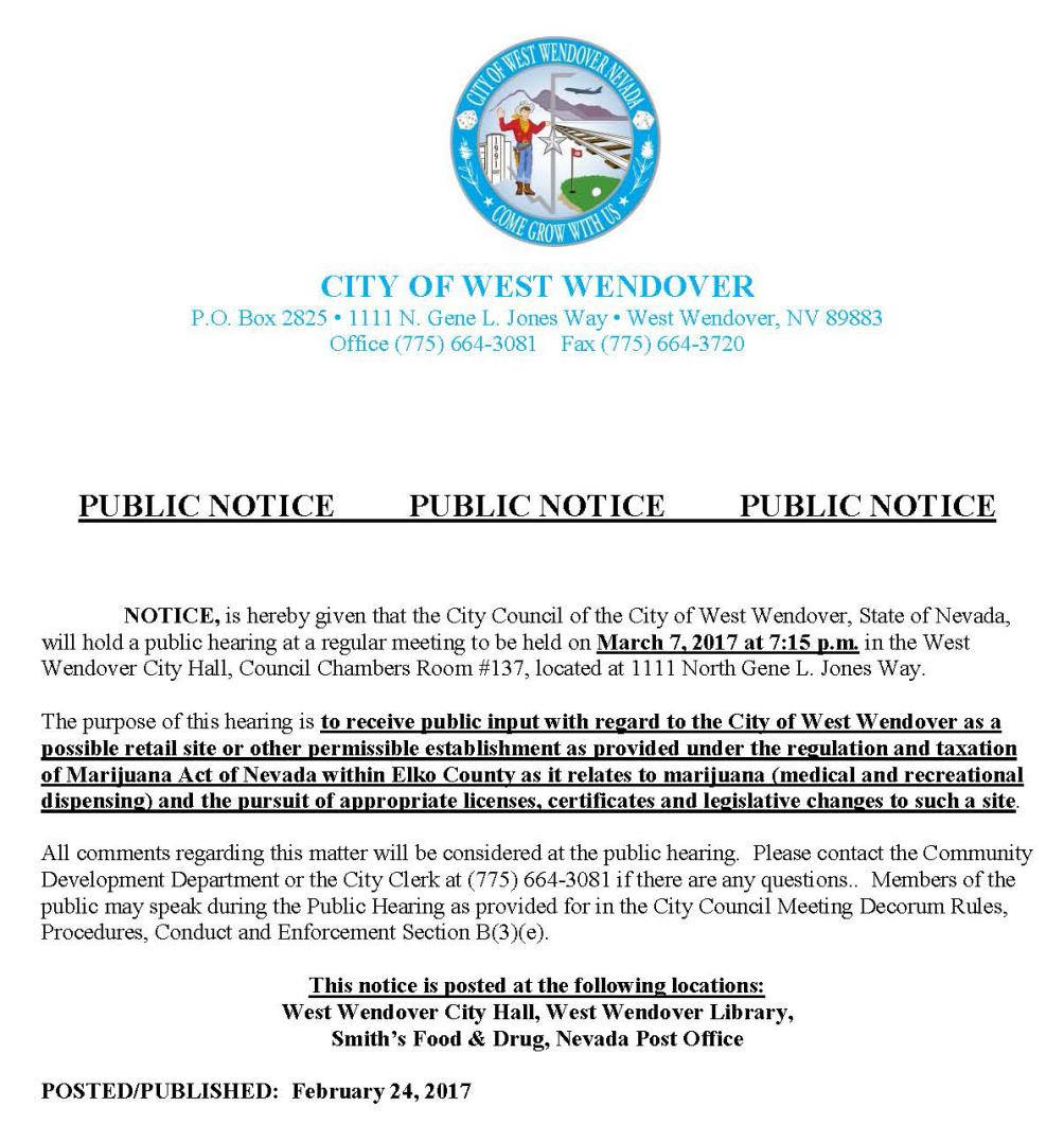 City News | West Wendover, NV