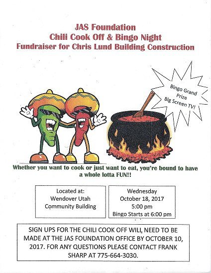 JAS Foundation October 2017 Chili Cook Off
