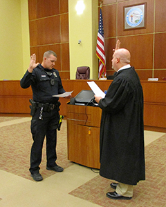 Matthew Ulm Takes Oath of Office