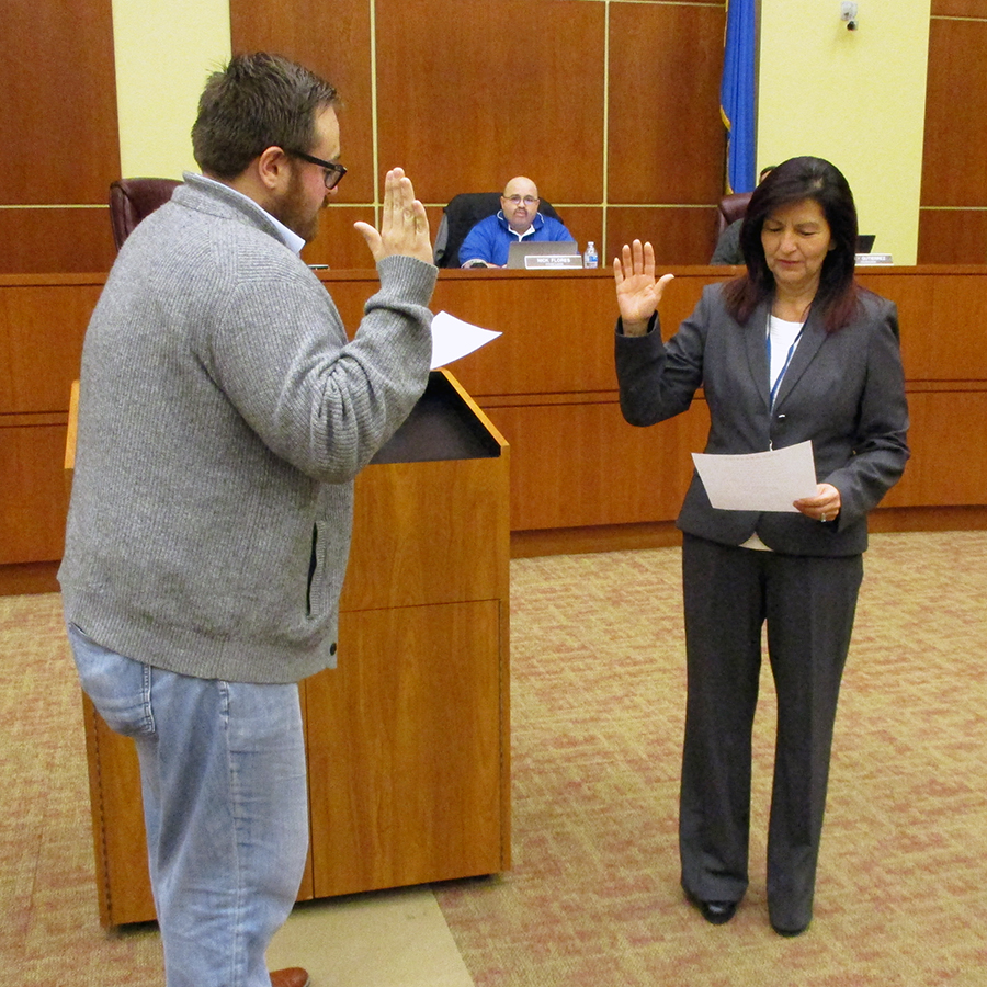 Oath of Office Chief Financial Officer 1-15-2019