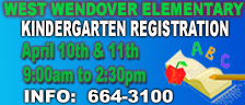 Kindergarten Registration 4-10-2019