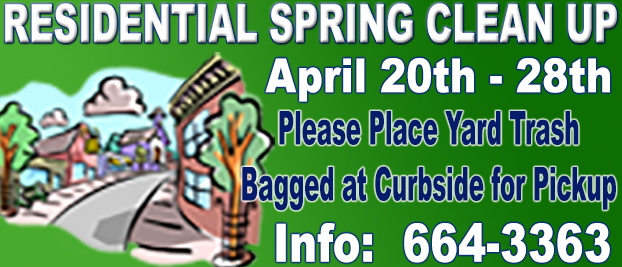 West Wendover Annual Residential Spring Clean Up - April 20th to 28th