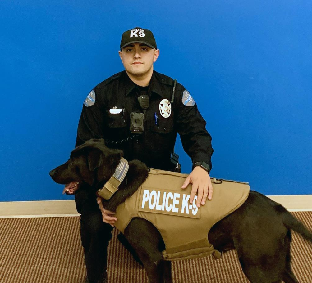 West Wendover Police Department's K9 Astro Receives Donation of Body Armor