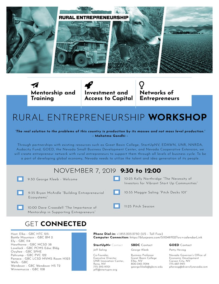 Rural Entrepreneurship Workshop
