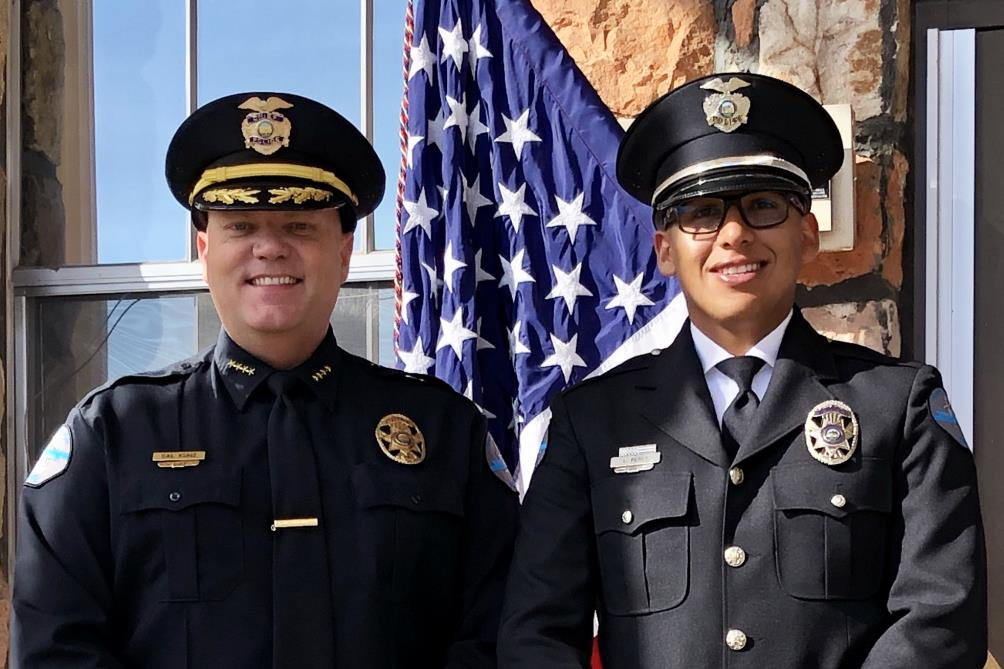 Police Officer Luis Perez Graduates Nevada P.O.S.T. Academy