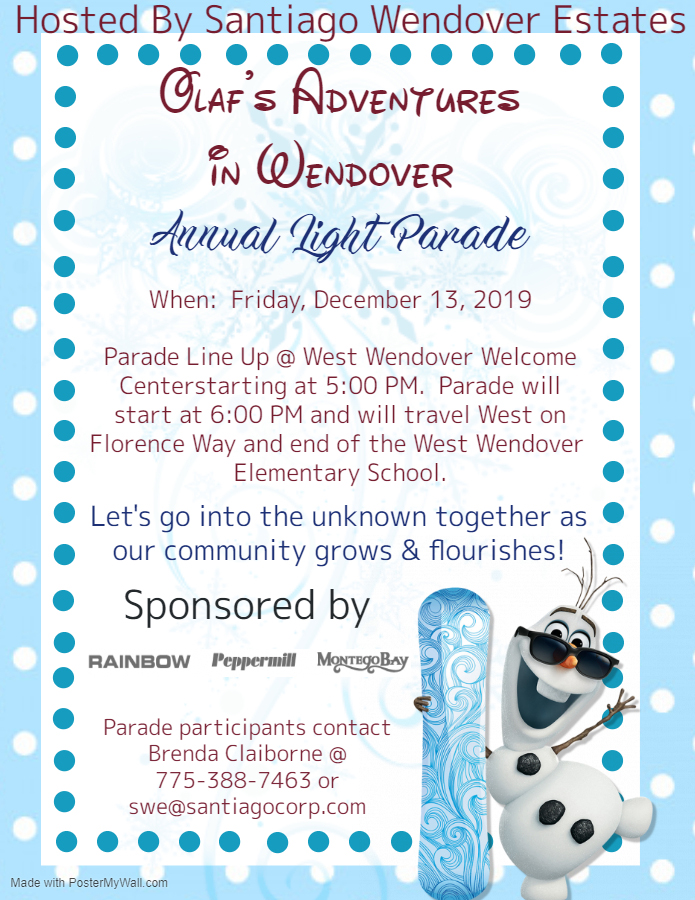Light Parade Flyer 2019