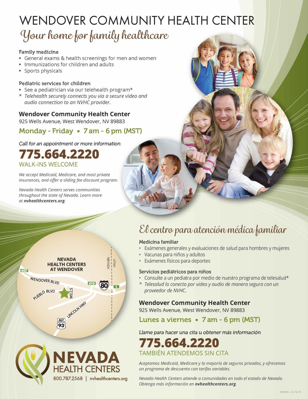 NHC Family Care Flyer 5-18-2020