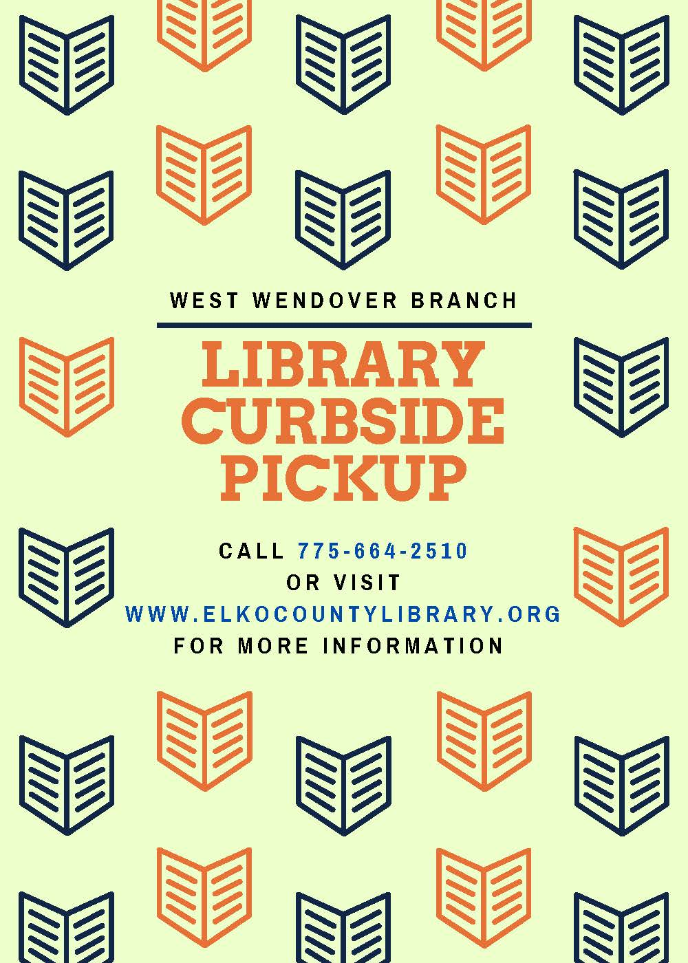 West Wendover Library Now Offering Curbside Pickup